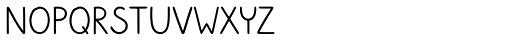 Sungarden Wide SC Regular Font LOWERCASE