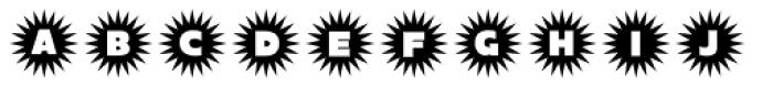 Sunitials JNL Font LOWERCASE