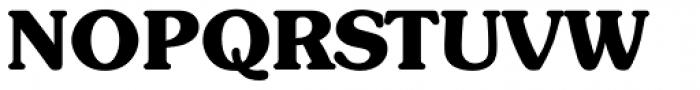 Sunset Serial ExtraBold Font UPPERCASE