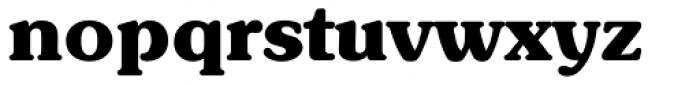 Sunset Serial ExtraBold Font LOWERCASE