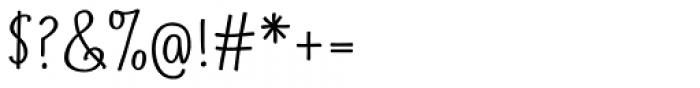 Suntea SemiBold Font OTHER CHARS