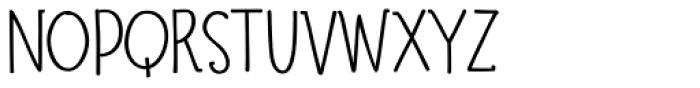 Suntea SemiBold Font UPPERCASE