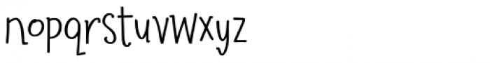 Suntea SemiBold Font LOWERCASE
