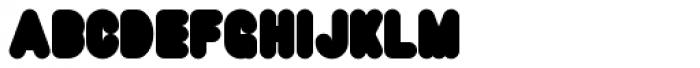 Super Black Font UPPERCASE