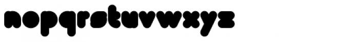 Super Black Font LOWERCASE