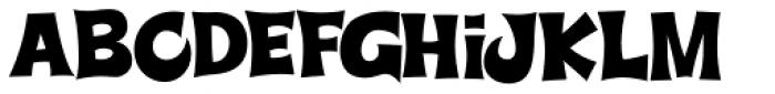 Super Delicious BTN Font LOWERCASE