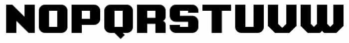 Super Duty Closed Round Heavy Font UPPERCASE