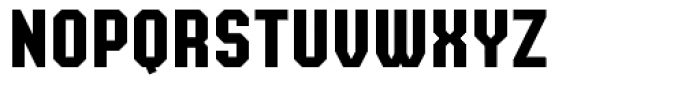 Super Duty Cond Closed Sharp Heavy Font UPPERCASE