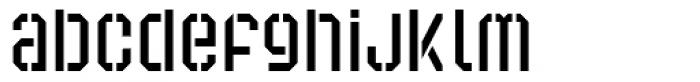 Super Duty Cond Sharp Light Font LOWERCASE