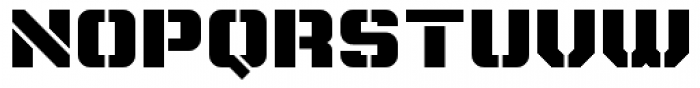Super Duty Round Heavy Font UPPERCASE
