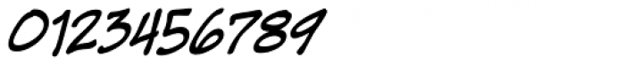Super Strong BB Italic Font OTHER CHARS