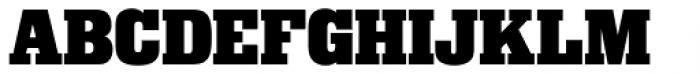 Superba Pro Bold Font UPPERCASE
