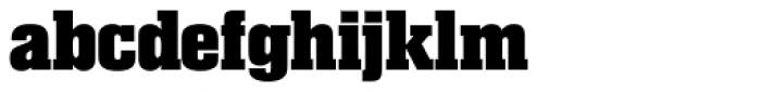 Superba Pro Bold Font LOWERCASE