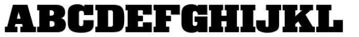 Superba Pro Wide Font UPPERCASE