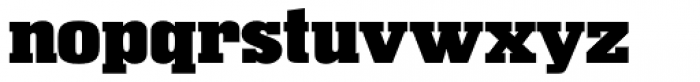 Superba Pro Wide Font LOWERCASE