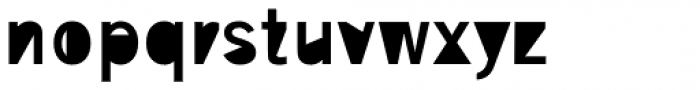 Superclosed B Font LOWERCASE