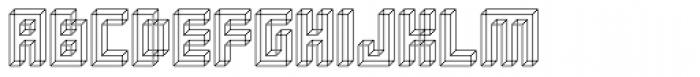 Superfurniture Necker Font UPPERCASE