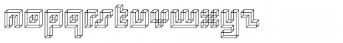 Superfurniture Necker Font LOWERCASE