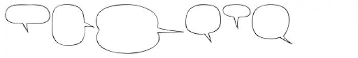Superhero Balloons Font UPPERCASE