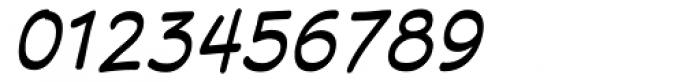 Superhero Oblique Font OTHER CHARS