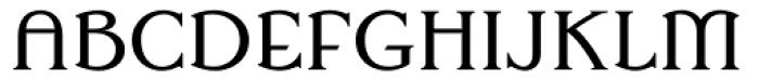 Superia Regular Font UPPERCASE