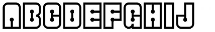 Superkraut Regular Font UPPERCASE