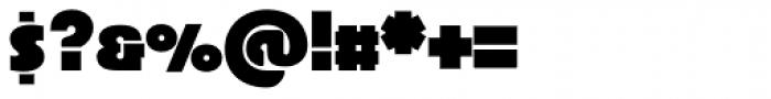 Superla Black Caps TF Font OTHER CHARS
