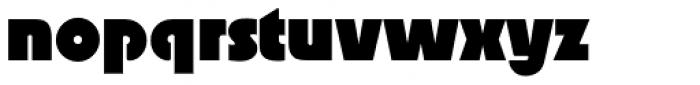 Superla Black LF Font LOWERCASE