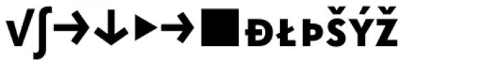 Superla Bold Caps Expert Font LOWERCASE