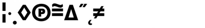 Superla Bold Expert Font OTHER CHARS