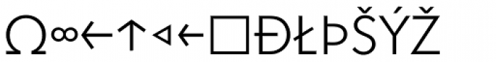 Superla Light Caps Expert Font UPPERCASE