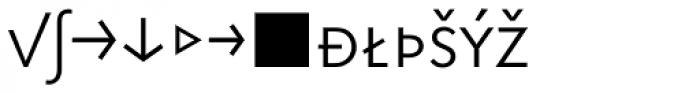 Superla Light Caps Expert Font LOWERCASE