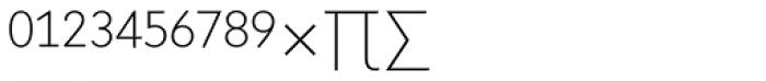 Superla Thin Caps Expert Font UPPERCASE