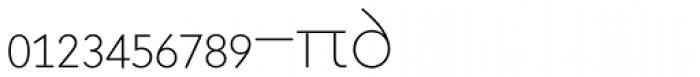Superla Thin Caps Expert Font LOWERCASE