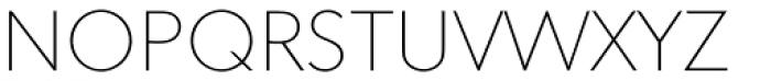 Superla Thin Caps TF Font UPPERCASE