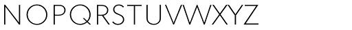 Superla Thin Caps TF Font LOWERCASE