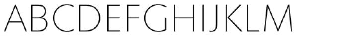 Superla Thin Caps Font UPPERCASE