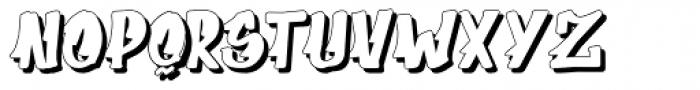 Supermarket 3D Font UPPERCASE