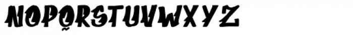 Supermarket Font LOWERCASE