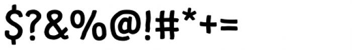 Supernett Bold Font OTHER CHARS
