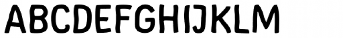 Supernett Bold Font UPPERCASE