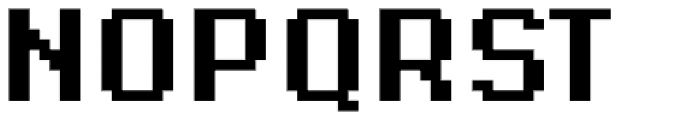 Supernormale Eight Large Bold Condensed Font UPPERCASE