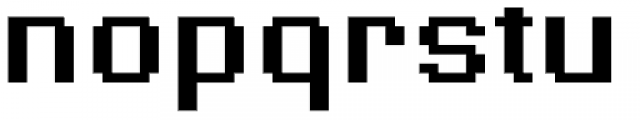 Supernormale Eight Large Bold Font LOWERCASE