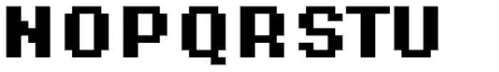 Supernormale Eight Small Bold Font UPPERCASE
