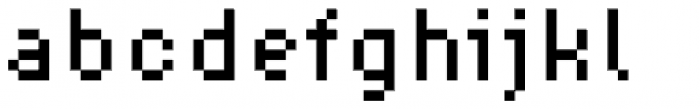Supernormale Eight Small Font LOWERCASE