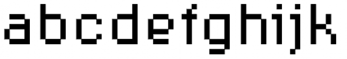 Supernormale Eight Sta Font LOWERCASE
