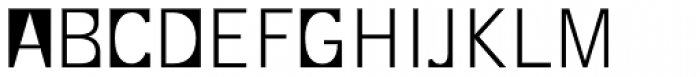 Supersquared Light Small Caps Font UPPERCASE