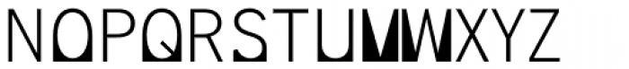 Supersquared Light Font LOWERCASE