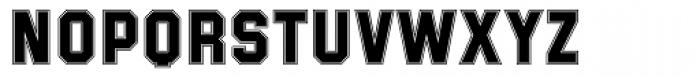 Superstar Font UPPERCASE