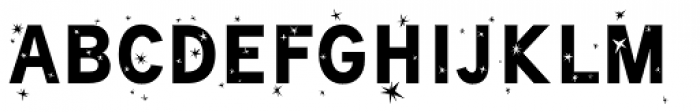 Superstarlike Font UPPERCASE